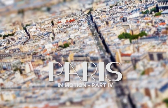 """Paris In Motion (Part IV): Cinematic Time-Lapse Short Film Directed By Mayeul Akpovi (2014)"