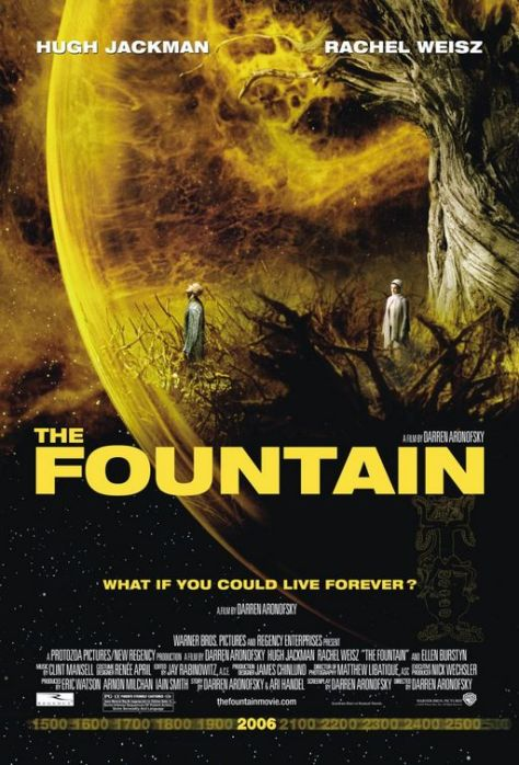 The Fountain Movie Poster Darren Aronofsky Director 2006
