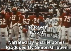 The Raven 1967 NFL Film Poem by Simon Gribben