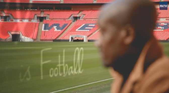 """An Ode To Football"": A Cinematic Poem Promotional Film For English Soccer Written By Musa Okwonga (2013)"