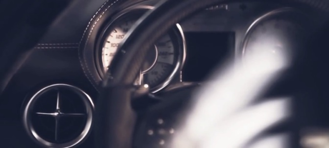 """Angels Over Berlin"": A Cinematic Promotional Short Film For Mercedes Benz SLS AMG Directed By Daniel Michaelis (2012)"