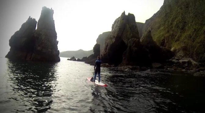 """Kingdom By The Sea"": Stand Up Paddleboard Short Film In Ireland Featuring Edgar Allan Poe By Barry Daly (2014)"