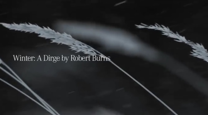 """4MATIC Winter Driving"": A Cinematic Poem Commercial Featuring Poet Robert Burns By Mercedes-Benz (2013)"