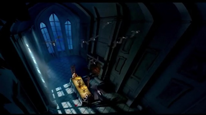 """The Fall Of The House Of Usher"": Animated Film Trailer Narrated By Sir Christopher Lee Directed By Raúl Garcia (2012)"