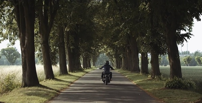 """""""The Glint"""": Cinematic Poem Short Film Promo For Comete Motorcycles By Mathieu Maury (2014)"""