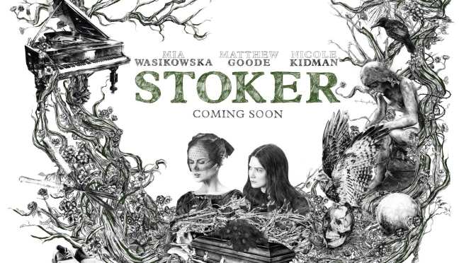 """""""Stoker – The Making Of The International Teaser Poster"""": Cinematic Music Short Film Featuring Emily Wells Performing """"Becomes The Color"""" (2012)"""