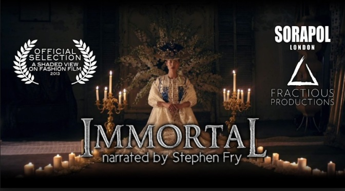 """Immortal – Sorapol"": Cinematic Creative Fashion Short Film Narrated By Stephen Fry By Conor Gorman (2014)"