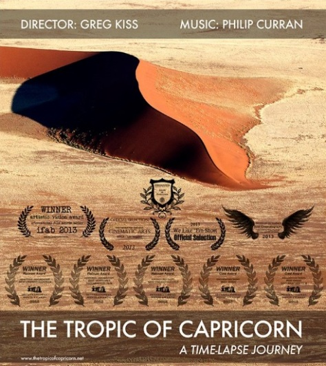 The Tropic of Capricorn Time Lapse Journey