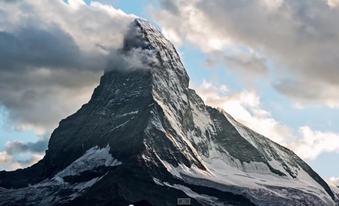 """The Peak"": A Cinematic Music Short Film Of The Swiss Matterhorn Directed By Christian Mülhauser (2013)"