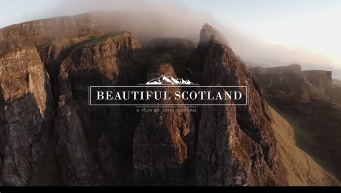 """Beautiful Scotland"": A Cinematic Aerial Short Film On Isle Of Skye By John Duncan (2014)"