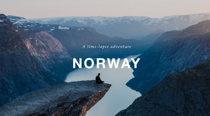 """Norway"": A Cinematic Time-Lapse Short Film Directed And Filmed By Morten Rustad (2014)"