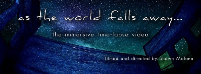 """""""As The World Falls Away"""": A Cinematic Time-Lapse Music Short Film Featuring David Helpling By Shawn Malone (2014)"""