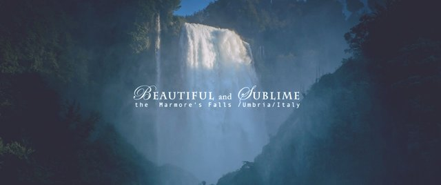 """Beautiful And Sublime"": A Cinematic Short Film Of Marmore's Falls In Umbria By Fabio Palmieri (2013)"