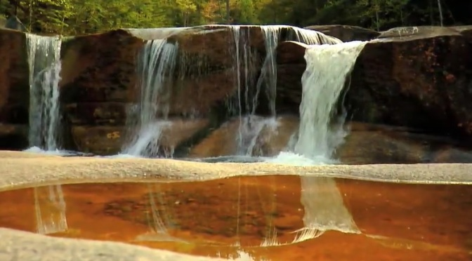 """New Hampshire Falls"": A Cinematic Short Film Of Waterfalls Directed By Tom Guilmette (2009)"