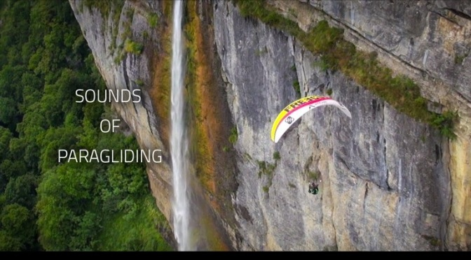 """Sounds Of Paragliding"": A Cinematic Short Film Of Théo de Blic Directed By Adrien Nisan (2014)"