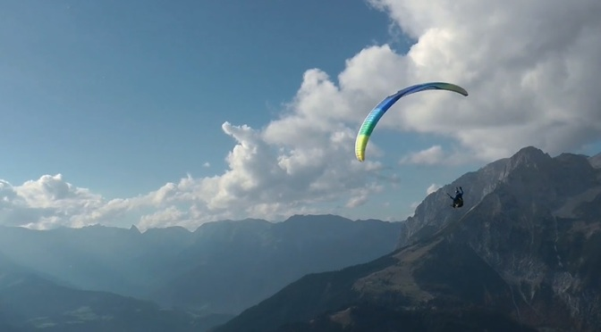"""We Love To Fly"": A Cinematic Paragliding Short Film Directed By Paul Doppler (2014)"