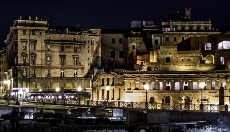 Roma Carpe Noctem cinematic time-lapse short film directed by JJB Film 2014