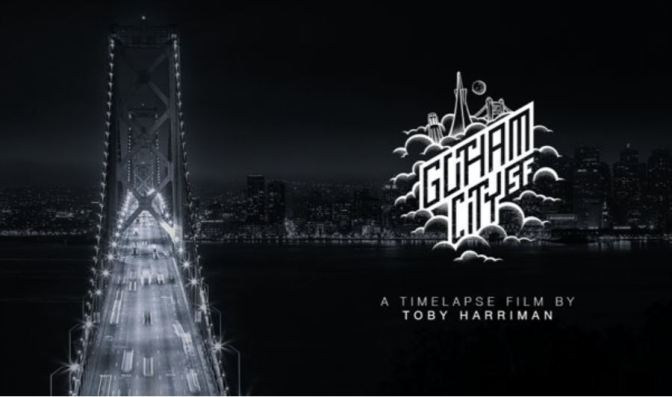 """Gotham City SF"": A Cinematic Time-Lapse Short Film Directed By Toby Harriman (2015)"