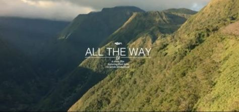 All The Way Cinematic Kiteboarding Short Film Directed by Olivier Sautet