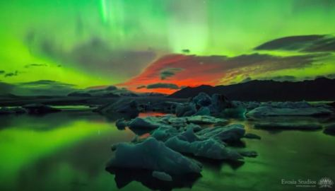 Apotheosis Cinematic Time-Lapse Short Film Of Solar Storm In Iceland By Henry Jun Wah Lee 2015