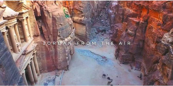 """Jordan From the Air"": A Cinematic Aerial Short Film By Scott Sporleder and Ross Borden (2015)"