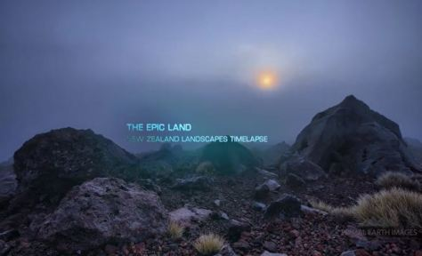New Zealand Landscapes Volume 1: The Epic Land (Click on Picture to watch)