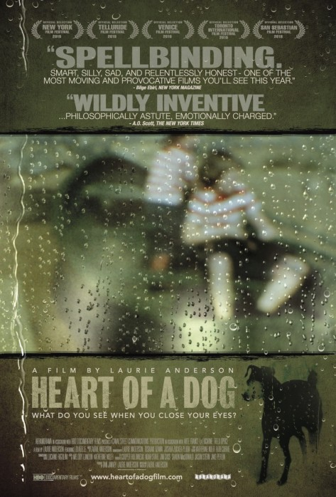 Heart of a Dog Film Poster Directed by Laurie Anderson 2015
