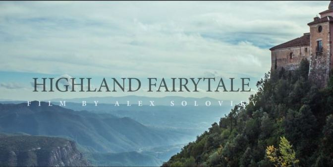 """Highland Fairytale"": A Cinematic Poem Short Film In Spain Directed By Alex Soloviev (2016)"