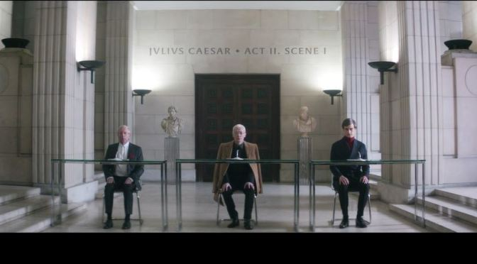"""""""Julius Caesar Act II Scene I"""": A Creative Adapted Short Film From Play By Shakespeare By Pedro Martín-Calero (2016)"""