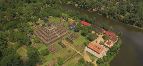 The Enchanted Realm Cinematic Aerial Short Film In Cambodia Directed by Kimlong Meng