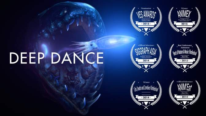"""Deep Dance"": A Cinematic Animated Short Film Created And Directed By Marco Erbrich (2016)"