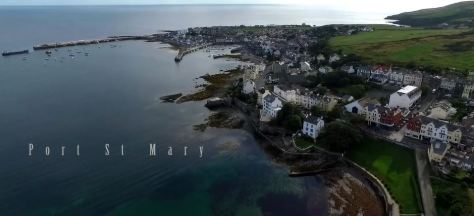 Beautiful Isle of Man Cinematic Aerial Travel Short Film Directed by Frank Pijpstra