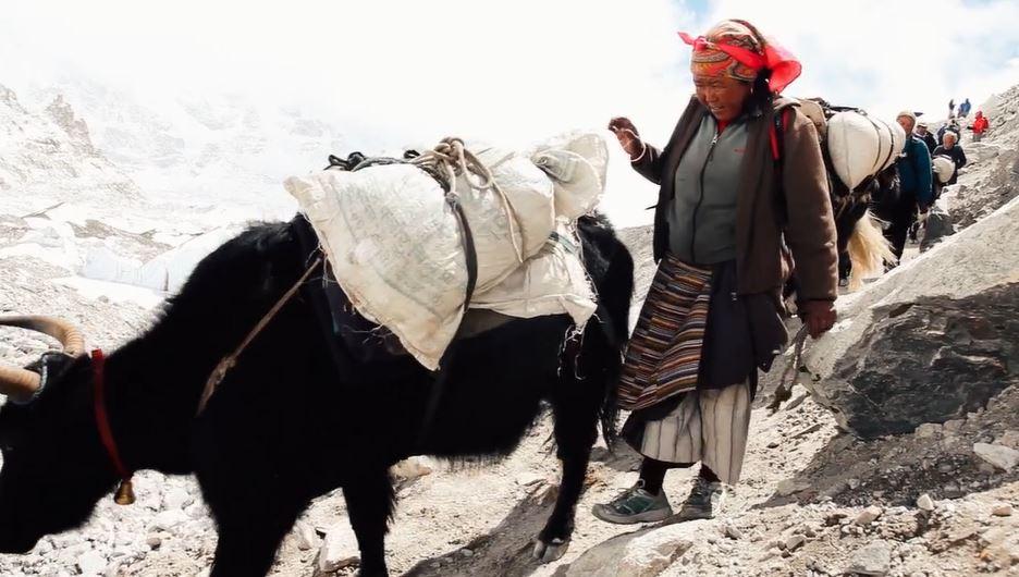 Himalaya Cinematic Poem Short Film Filmed and Directed by Berta Tilmantaitė 2016