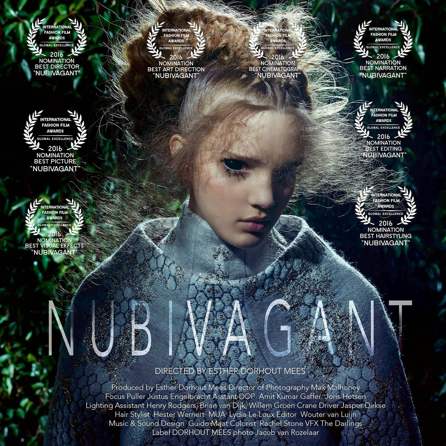 NUBIVAGANT Cinematic Fashion Short Film Directed by Esther Dorhout Mees 2016