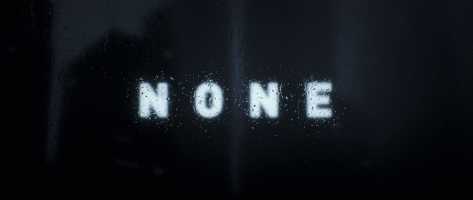 """""""None"""": A Cinematic Visual Poem Short Film Directed By Ash Thorp (2016)"""
