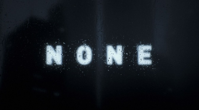 """None"": A Cinematic Visual Poem Short Film Directed By Ash Thorp (2016)"