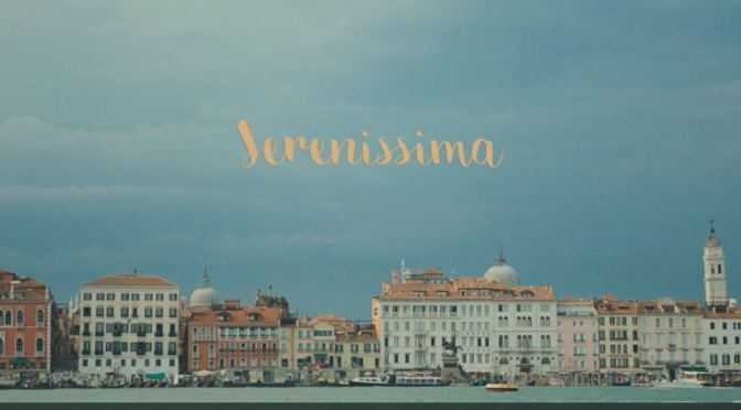"""Serenissima"": A Cinematic Poem Short Film In Venice By Liam Nugent (2016)"