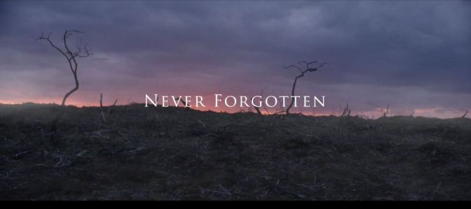 """Never Forgotten"": A Cinematic Poem Short Film Featuring WWI A.E. Housman Poem Directed By Jamie Childs And Gareth Brannan (2016)"