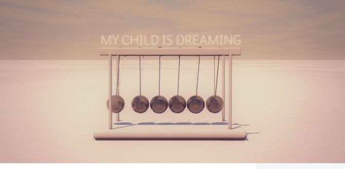 """My Child Is Dreaming"": A Cinematic Visual Poem Animated Short Film By Pask D'Amico (2016)"