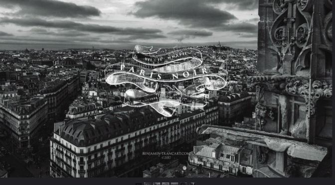"""Paris Noir"": A Cinematic Time-Lapse Music Short Film Directed By Benjamin Trancart (2017)"