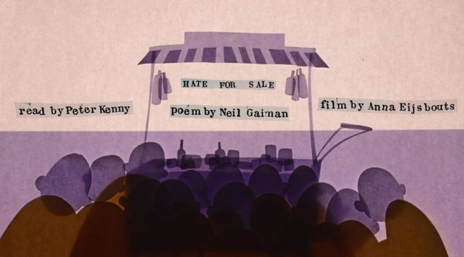 """Hate For Sale"": A Cinematic Poem Animated Short Film Directed By Anna Eijsbouts (2017)"