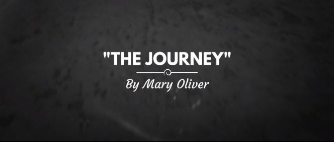 """The Journey"": A Cinematic Poem Short Film On Mary Oliver Poem Directed By Hayden Fortescue (2017)"