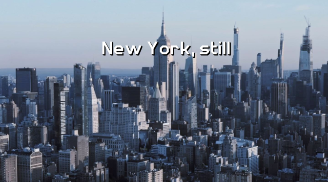 """New York, still"": A Cinematic Poem Short Film Directed By Bram VanderMark (2020)"